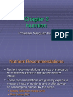 Chapter 2 Nutrition