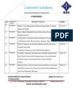 2014-15 ieee embedded projects list,ieee projects for embedded,ieee projects in embedded