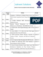 2014-15 ieee projects  list ,bulk ieee projects for vlsi,ieee projects for vlsi