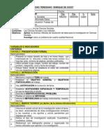 Pauta de Evaluacion Trabajo de Investigación