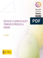 Estudio Cadena de Valor de La Manzana España