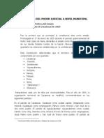 Antecedentes y Marco Juridico Del Poder Judicial a Nivel Municipal