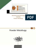 13577 Powder Metallurgy