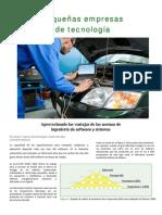 Pequenas Empresas de Tecnologia -IsO Focus Feb 2013