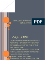Total Quality Management and Benchmarking
