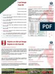 Plaquette LCA Foot 38 2014-2015