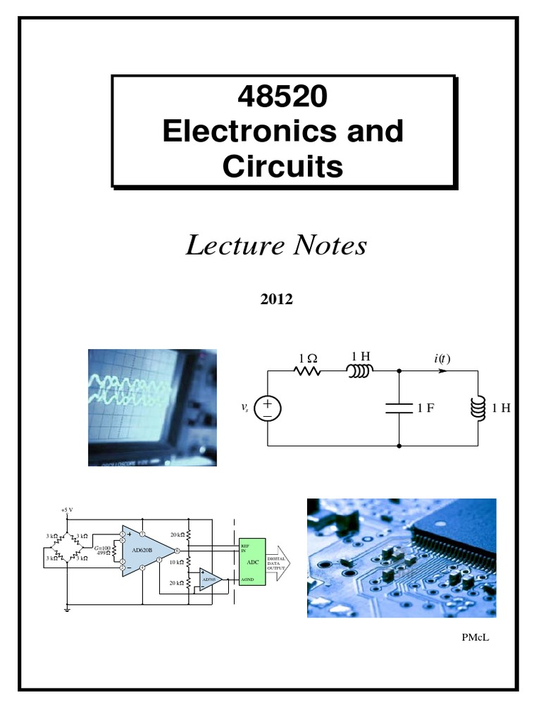 Electric Circuits Notes Electrical Network Analysis Graph Of Underdamped Case In Rlc Circuit Differential Equation T I