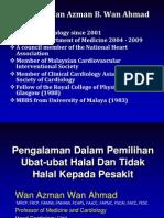 Pengunaan Ubat-Islam - Kes Scenario (Prof Wan Azman PPUM)