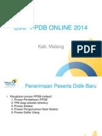Pelatihan PPDB Online 2014 Kab Malang