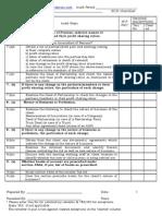 3cd Checklist