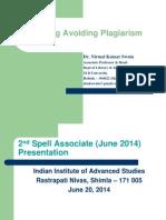 teaching avoiding plagirsm