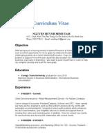 Tam's CV