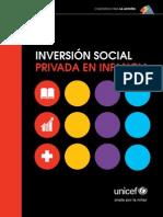 Inversión Social Privada en Infancia - UNICEF