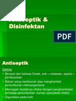 1- Antiseptik & Desinfektan