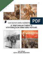 MEB İnkılap Tarihi Notları (HAP)