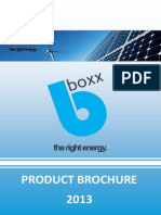 BBOXX Product Brochure