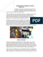 Introduction to Magnetic Particle Inspection