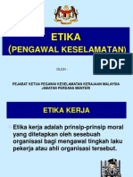 Etika Pengawal -2012