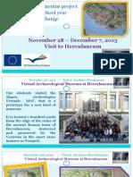 Visit to Herculaneum.
