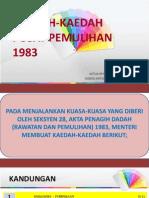 Kaedah-kaedah Pusat Pemulihan 1983 Edit