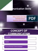 Communcation Skills