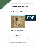 Módulo Completo de Aymara Básico II