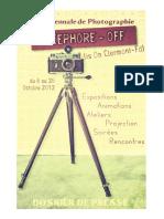 Dossier de Presse Nicéphore-Off 2012
