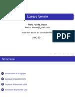 Cours Logique Formelle Pr 2011 (2) (1)