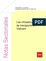 Infraestructuras de Transporte de Vietnam