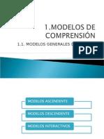 modelos de comprensión
