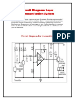Circuit Diagram Laser Communication