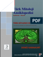 Deniz Karakurt - Türk Mitoloji Ansiklopedisi - Cilt 1