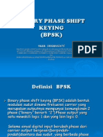 Binary Phase Shift Keying(Bpsk)Presentasi