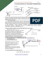 Rozwiązanie ramy płaskiej metodą sił i obliczenie przemieszczeń