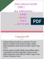 Askep Infeksi Saluran Kemih (ISK )