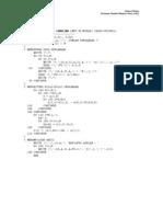 6 Handout Program Pers Simultan Fortran