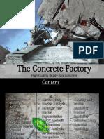 Mix Concrete Batching Plant Business Plan