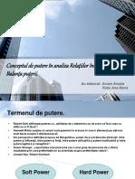 Conceptul de Putere in Analiza RI. Balanta Puterii.