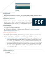 Scottish Guidelines Psoriasis Sing 2010