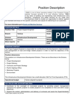 Project Support Engineer Final 130813