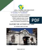 Raport Autoevaluare - Management ID 2014