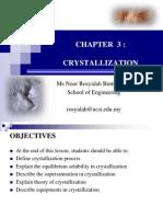3 Crystallization