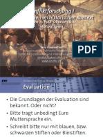 Int. Konfliktforschung I - Woche 11 - Polit-Ökonomische Motivationen (Übung)