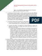 EC1 -2. en Quoi La Prise en Compte de l'Hétérogénéité Du Facteur Travail Modifie-t-elle La Gestion de l'Emploi