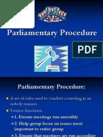 Parliamentary Procedure (1)