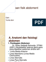 Pemeriksaan fisik abdoment