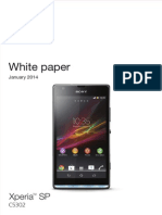 Xperia Sp White Paper