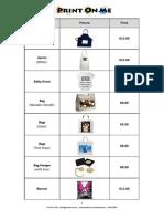 print on me catalogue 2013