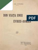 Din Viata Unui Evreu-roman, Dr. Ad. Stern, 1915
