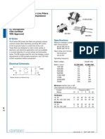 Datasheet Noise Filter
